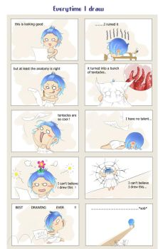 What artists go through by Amano-M