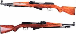 Exp. semiautomatic rifle 1945 by MADMAX6391
