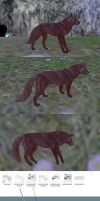 Texture for FH canine model by NorthernRed