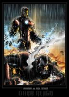 IronMan v IronPatriot Coloured by NineteenPSG