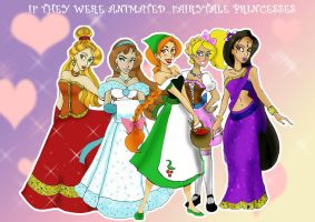 What if Disney...Princesses by TRALLT