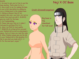 Neji X OC Base by ShinanaEvangelian1