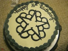 Black Veil Brides Cake by Dethkira