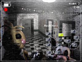Playing F.N.A.F 2 by Donniefangirl