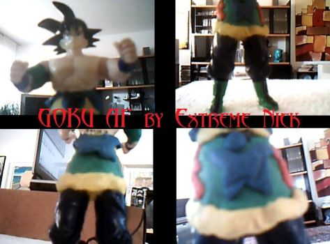 Goku AF Action Figure by ExtremeNick