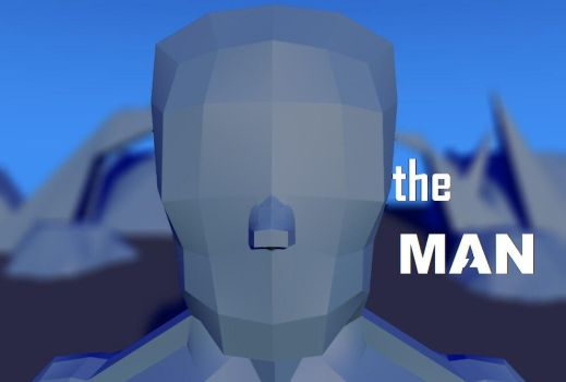 THE MAN (blue ver) by alexguardian1