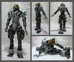 Bionicle MOC - Kuikari 1.3 - details by Alex-Darkrai