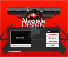 ASD Wolverine Edition Website by TheAlessandro