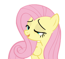My Little Vector #1: Fluttershy by KocMoHaBT