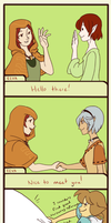 SA: Meeting New Folk by Miyanko