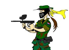 Paintball Warrior by CheifJay