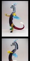 Discord 3D-Printed Figure by Clawed-Nyasu