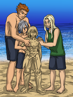 For the KH Summer Contest: Sand Castle 4 Science by Dark-Momento-Mori