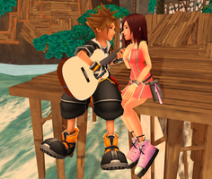 MMD KH - Lucky I'm In Love...- SoKai by XxChocolatexHeartsxX