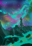 Colourful Skies W.I.P by Zitora