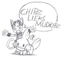 Chipz the...Trainer? by PhoenixG2
