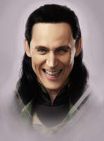 Loki - Fan Art 5 by AndromedaDualitas