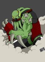 vilgax colored 2011 by danielsingzon