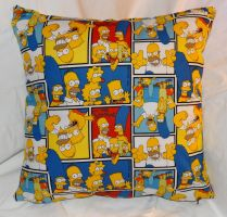 Simpsons Pillow by quiltoni