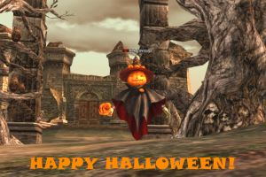 Lineage 2 - Happy Halloween by Brownfinger