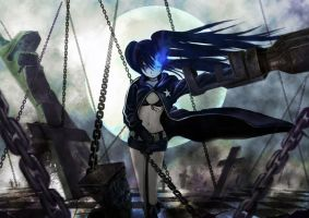 Black Rock Shooter by doneplay
