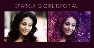 Sparkling Girl Tutorial by pweetylucious