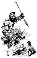 David vs Goliath by KauseOfDeath