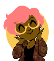 I dyed my hair pink by Illzie