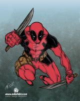 Deadpool by mdavidct