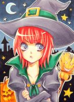 No26 - Little Witch by KishiShiotani