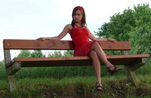 Lady in Red example2 by syccas-stock