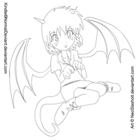 Kindle uncolored by NeoSlashott