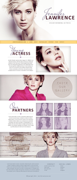 Jennifer Lawrence Design by sort-of-invisible