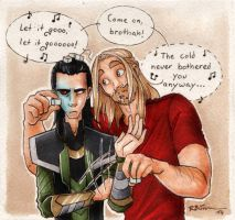 Let it go, Loki by CaptBexx
