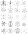 Resource: Snowflakes by Iduna-Haya