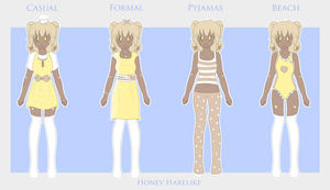 Honey Harelike :: Wardrobe by Chickadee-chii
