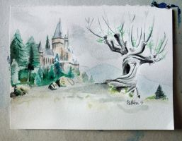Whomping Willow by Joojie99