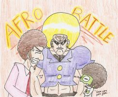 Afro Battle by Mister-Saturn