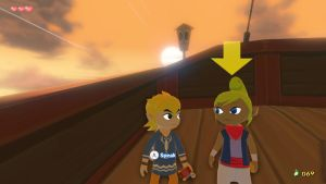 Link and Tetra by boisterous-royalty