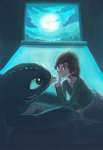 night by hiraco