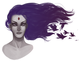 Raven by ZacharyWolf