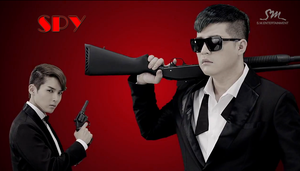 Ryeowook and Shindong Spy Wallpaper by MikaAlaMode