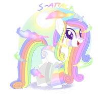 Pastel Rainbow Pony {Auction - Closed} by S-Adopts