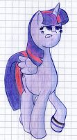 Asexual Twilight Sparkle by TastyPony