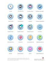 Windows Icon-Cute Light Blue by jongart