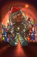 Olimar's End of Day by Jaehthebird