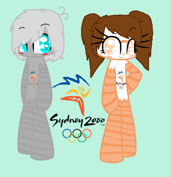 My new mascots Sydney 2000 by ShirraLover3