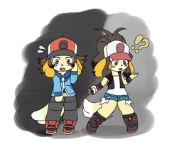 Pokemon Training Has Gone to the Dogs by Usa-Ritsu