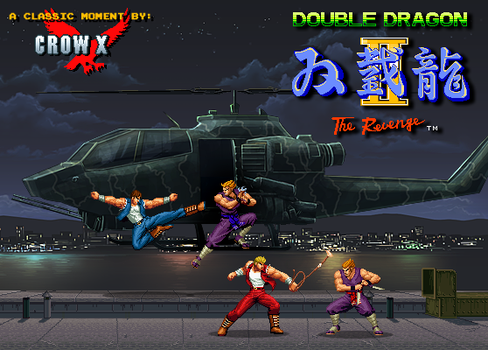double dragon 2 ninjas by crowbrandon