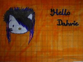 Hello Dahvie by youdonegoofed